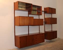 Modular Wall Units Danish Modular Teak Wall Unit By Poul Cadovius 1960s For Sale At