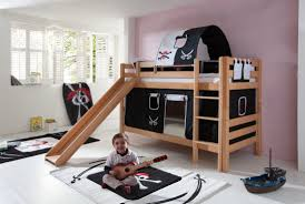 kids bunk bed with slide bunk beds with slides for cool kids