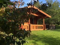 bamburgh luxury log cabin northumbrian holidays
