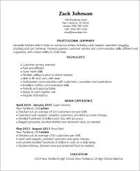Resume Sles For Cashier Retail Cashier Resume Templates Franklinfire Co
