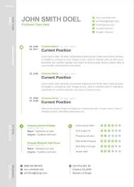single page resume template modern one page resume template creative resume templates