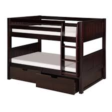 modern camaflexi bunk beds and loft allmodern twin bed with
