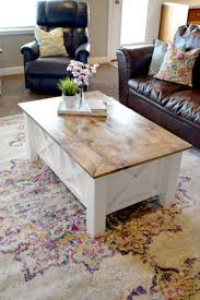 building table with storage how to build a farmhouse coffee table with storage free building