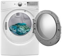 Propane Clothes Dryers Whirlpool 7 4 Cu Ft White Gas Dryer Wgd92hefw