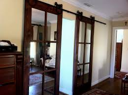 Indoor Sliding Barn Doors by Barn Door Sliding Barn Doors With Glass Inside Superior
