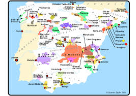 Spain Regions Map by Sierra De Gredos A Treasure Trove For Old Vine Garnacha