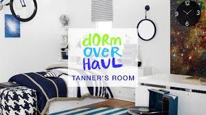 tanner bell u0027s dorm room design youtube