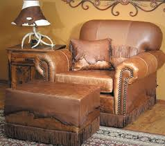 Southwestern Living Room Furniture Wondrous Southwestern Living Room Furniture Using Antique Leather
