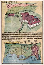 Marvel Universe Map Marvel Comics Of The 1980s 1983 X Men Entry For The The