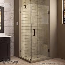 Shower Frameless Glass Doors by Unidoorlux Hinged Shower Enclosure