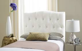 axel white tufted headboard headboards furniture by safavieh