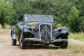 citroen classic bonhams chantilly classic car auction automobile noblesse on sale