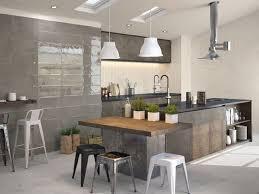 id ilot cuisine ilot cuisine avec table impressionnant luxe inspirations images
