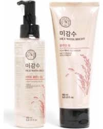 the face shop rice water bright cleansing light oil deal alert the face shop rice water bright cleansing foam