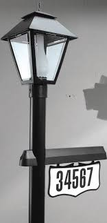 light post with address sign address light store solar or electric address lights lighted
