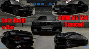 stanced bmw m5 lets build a car stanced bmw m5 e34 ep 13 slrr youtube