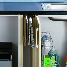 Wickes Pull Out Towel Rail Chrome Wickescouk - Kitchen cabinet towel rack