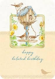 oiseau belated birthday card box set with scripture