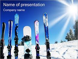 winter kinds of sport powerpoint template u0026 backgrounds id
