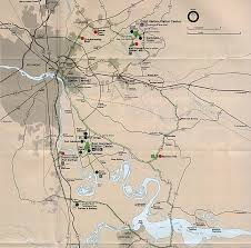 Battle Of New Orleans Map by American Civil War Campaign Area And Battle Maps