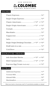 menu indi chocolate