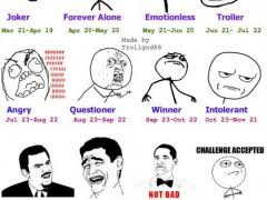 Meme Face List - rage face horoscope weknowmemes