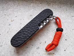 personalized swiss army knife andrzej woronowski custom knives sak navajas