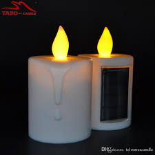 solar led candles memorial solar powered energy candle for