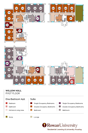 Willow Floor Plan by Willow Hall Description Residential Learning And University
