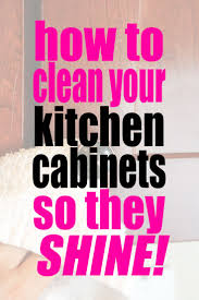 Cleaning Kitchen Cabinet Doors Best 25 Cleaning Kitchen Cabinets Ideas On Pinterest Cleaning