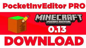pocket inv editor pro apk pocketinveditor pro 1 16 para minecraft pe 0 13 1