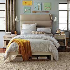 tufted bedroom furniture panel tufted headboard west elm