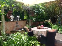 creating shade in outdoor spaces french gardener dishes