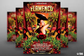 halloween party flyers templates flamenco party flyer template tds