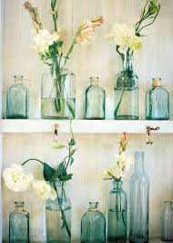 vintage bathroom decor ideas vintage bathroom accessories part 1 glass bottles with flowers