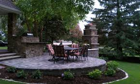 Outdoor Fireplace Custom Built Outdoor Fireplace U0026 Kitchen Woodbury Mn Twin City