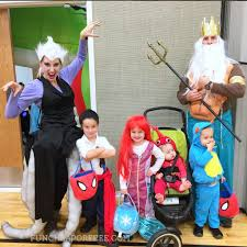 diy little mermaid costume cutest family halloween costumes ever