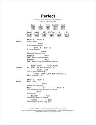 ed sheeran perfect chord original perfect lyrics image collections invitation sle and invitation
