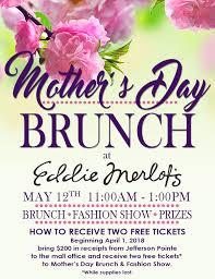 mother s jefferson pointe mother s day brunch at eddie merlot s