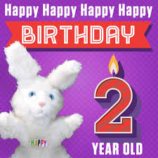 2 year birthday hoppa the happy bunny happy happy happy happy birthday 2 years