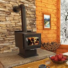 drolet classic wood stove with blower and start up kit