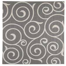 Square Indoor Outdoor Rugs Gray Square Square 7 And Larger Outdoor Rugs Rugs The