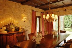 sophisticated mediterranean dining room designs to show you what