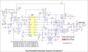 larrys corner class d audio amplifier irs2092s
