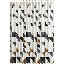 Black White Shower Curtain Black And White Shower Curtain