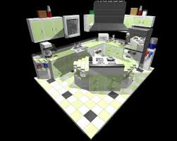 lego kitchen kitchen a lego creation by plan b mocpages com