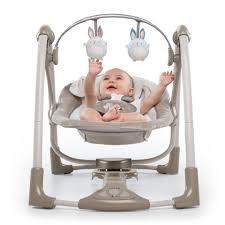 portable baby swing with lights ingenuity power adapt portable swing bingham bunny babies r us