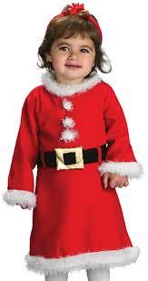santa costumes rubie s baby girl s santa girl clothing