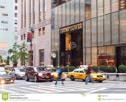 Trump Tower Ny Trump Tower In New York Editorial Image Image 39854225