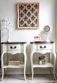 3 Vintage Furniture Makeovers For by Best 25 White Bedside Tables Ideas On Pinterest Side Tables